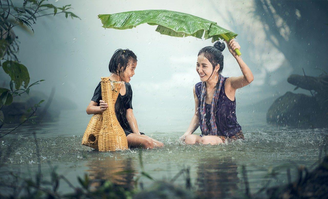 Llueve lluvia
