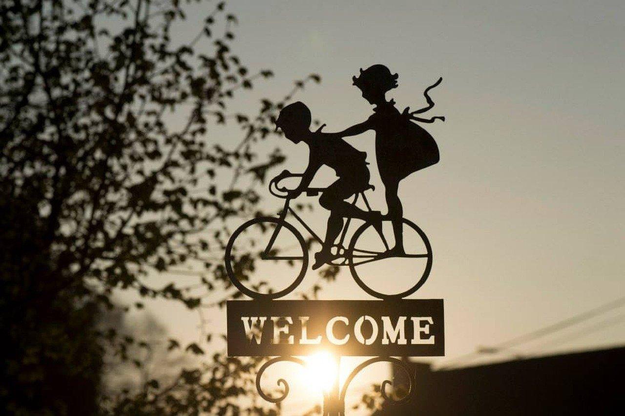 Bienvenida, saludar