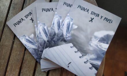 Ganadora del concurso «Pluma, tinta y papel»